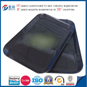 Tabacco Rectangle Tin Tray 0.23mm Thickness Rolling Tray pictures & photos