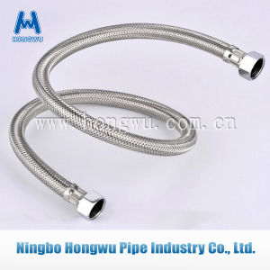 Bathroom Plumbing Stainless Steel Wire Braided Hose pictures & photos