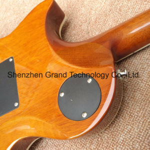 Quilted Maple Top Tremolo Bridge Lp 1959 R9 Electric Guitar (GLP-565) pictures & photos