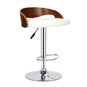 Hot Sale Swivel Wooden Breakfast Kitchen Pub Bar Stools (FS-WB1944) pictures & photos