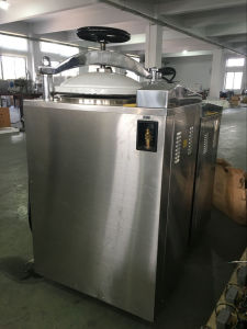 LCD Vertical Vacuum Steam Autoclave Machine pictures & photos