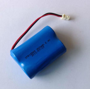 6.4V 900mAh 18500 LiFePO4 Battery Pack pictures & photos