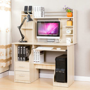 High Quality Contemporary Home Furniture Wooden Computer Desk (FS-CD033) pictures & photos