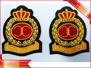 Bullion & Silk Patches Embroidered Patch Garment Woven Patch pictures & photos