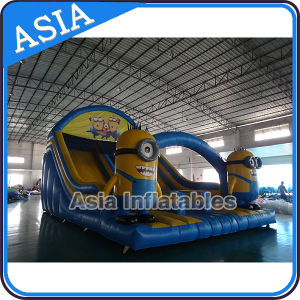 Inflatable Minions Dry Slip Slide / Inflatable Minions Slide pictures & photos