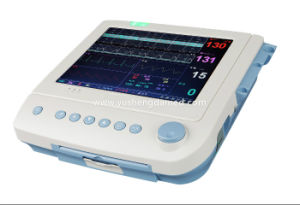 Fetal Monitor ECG Maternal Hospital Equipment Portable Patient Monitor Ysd18A pictures & photos