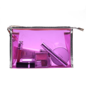 Coloured Transparent PVC Cosmetic Bag pictures & photos