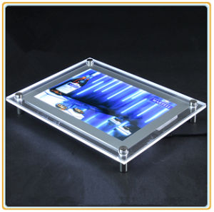 Super Thin Wall Mounted Crystal Light Box pictures & photos