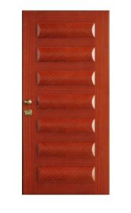 Security Interior Wooden Fire Door
