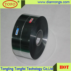 Metallzied Polyester Film 4um MPET Film for Capacitor Use pictures & photos