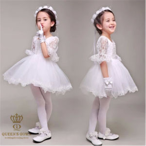 Lovely Flower Girl Dress Bride Wedding Tailored pictures & photos