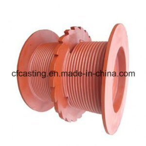Resin Sand Casting Mining Hoist Coiling Block pictures & photos