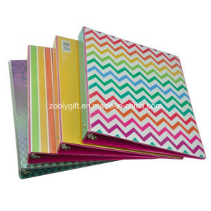 Cheap Wholesale Printing PVC A4 3-Ring Binder File Folders pictures & photos
