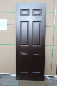 High Definition American Steel Door with Deep Embossing pictures & photos
