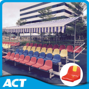 Freestanding Aluminum Bleacher with Plastic Seat (optional retractable canopy) pictures & photos