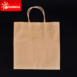 Kraft Paper Carrier Bags with Handle pictures & photos