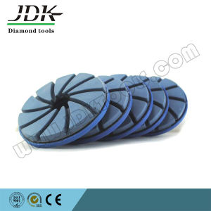 Snail Lock Edge Polishing Pad for Granite pictures & photos