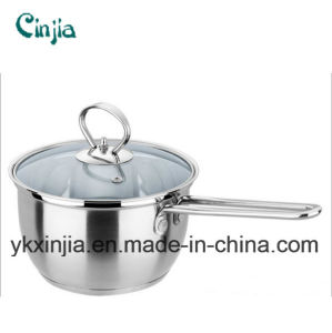 Korea Hot Selling Stainless Steel Noodle Pot/Milk Pot Cookware pictures & photos