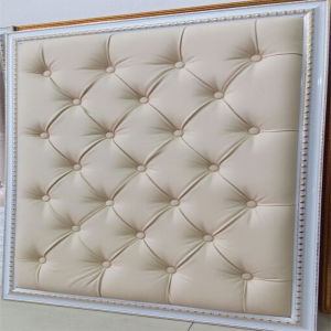 customized indoor 3d leather decorative wall panel - Decorative Wall Paneling