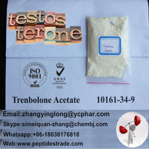 99% Raw Human Growth Steroids Hormone Trenbolone Acetate Powder pictures & photos