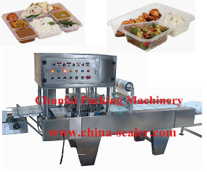 Automatic Instant Noodle Bowl Sealing Machine pictures & photos