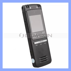 8GB Professional Digital Audio Voice Recorder Dictaphone with Large LCD Display Loudspeaker Dual Microphone pictures & photos