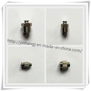 CNC Equipment Stainless Steel Pneumatic Connector (304, 316)