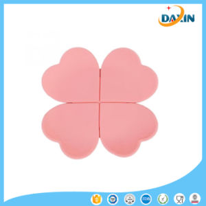 Fashion Flower Placemat Silicone Insulation Pad for Tea Cup Coffee Glass pictures & photos