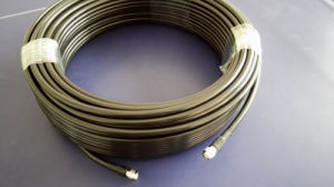 High Performance 50ohms Coaxial Cable 5D-Fb with Connectors pictures & photos