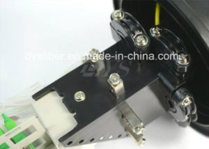 Installed with  2 PCS 1: 8 Micro PLC Optical Splitter, Ofsc-014 Dome Splice Closure pictures & photos