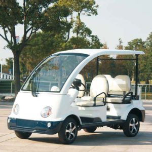CE Approved 4 Seater Electric Motor Car (DN-4) pictures & photos