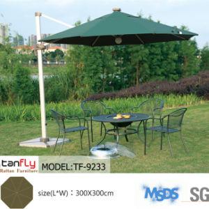 Aluminum Base Sun Outdoor Beach Umbrella with Lamp