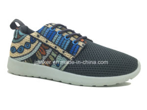 Comfort PVC Injection Sport Shoes for Ladies (J2279-L)
