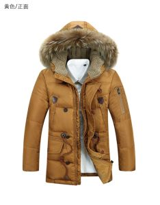 OEM China Factory Garments High Quality Cotton Winter Coat for Man pictures & photos