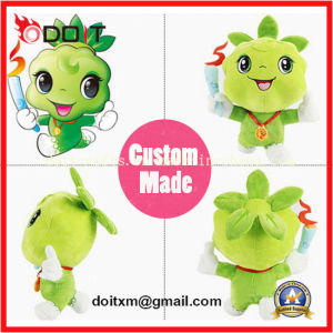 OEM Custom Plush Toy Stuffed Olympic Mascot with Torch pictures & photos