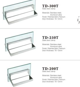 Stainless Steel Hinge Aluminum Hinge Glass Accessories (TD-200T) pictures & photos