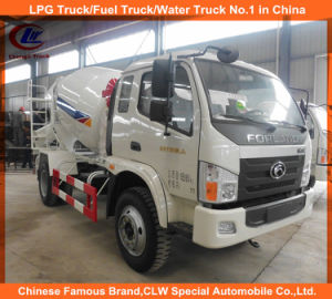 Foton Self Loading Concrete Mixer Trucks 6cbm for Sale pictures & photos