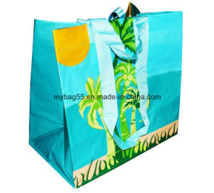 Recycled BOPP Laminated Non Woven Promotional PP Woven Shopping Bag pictures & photos