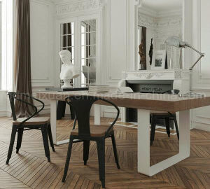 Solid Wooden Dining Table Living Room Furniture (M-X2898) pictures & photos