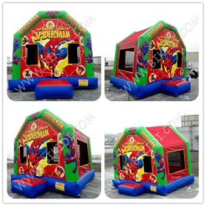 Safe and Cheap Customized Air Bouncer Inflatable Trampoline for Adults and Kids B2213 pictures & photos