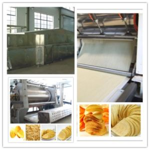Wholesale Cheap Small Output Fresh Potato Chips Making Machine pictures & photos