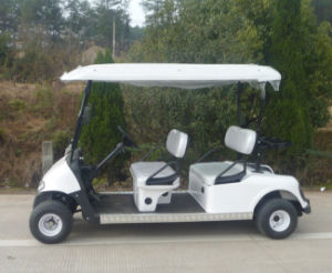 3000 W Four Seats Electric Utility Golf Cart for Sale pictures & photos