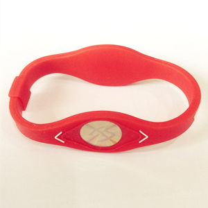 Fashion Custom Charm Fitness Sport Silicon Wristband From Supplier pictures & photos