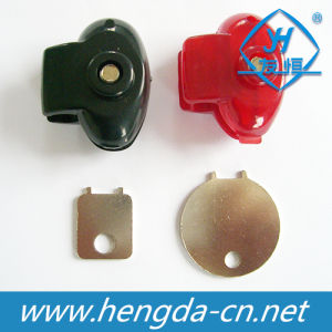 Economic Safe Trigger Pistol Lock with Two Colors (YH1904) pictures & photos