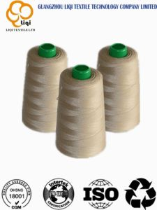 Polyester Sewing Yarn for Suits 40s2 with 5000 Yards Per Cone Factory Price Polyester Yarn pictures & photos