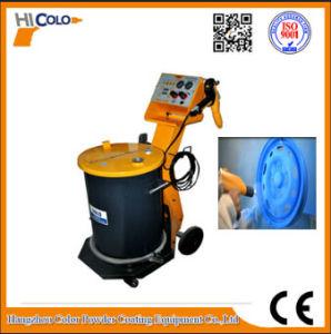 New Trolley Manul Powder Coating Spray Gun for Car Wheel Pulver Handanlagen pictures & photos