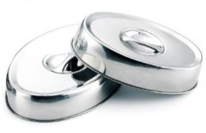 Stainless Steel Oval Dish Covers for Buffet and Restaurant (151006VC) pictures & photos