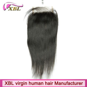 Xbl Lace Closures for Brazillian Hair and Peruvian pictures & photos