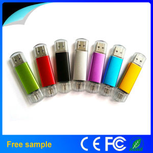 Free Samples Colorful OTG USB 2.0 Flash Driver 2GB 4GB