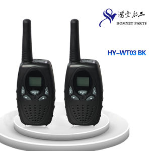 UHF400-470MHz Mini Ham Radio Walkie-Talkie with LCD Screen (HY-WT03 BK) pictures & photos
